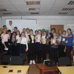 Кулакова Софья и учащиеся лицея